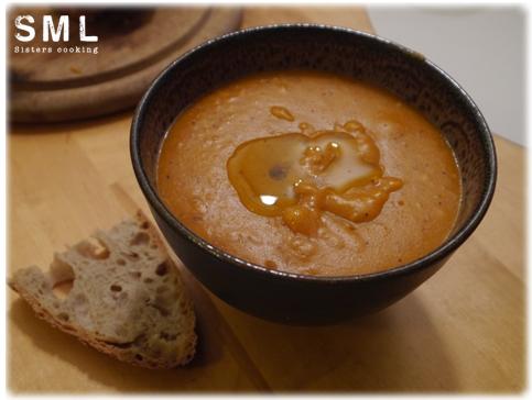 Soupe de pain a la tomate
